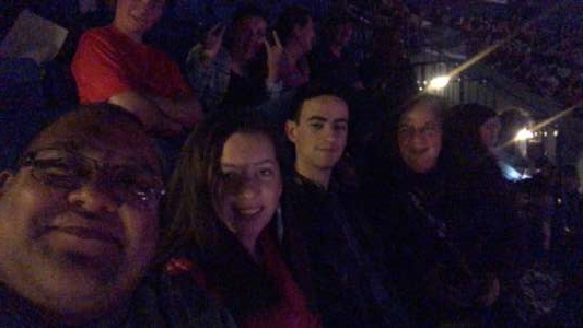 Damian attended Carrie Underwood - the Cry Pretty Tour 360 on Oct 13th 2019 via VetTix
