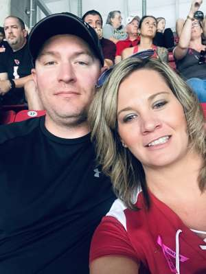 Justin attended Arizona Cardinals vs. Atlanta Falcons - NFL on Oct 13th 2019 via VetTix