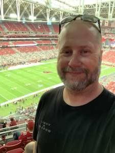 Ric attended Arizona Cardinals vs. Atlanta Falcons - NFL on Oct 13th 2019 via VetTix