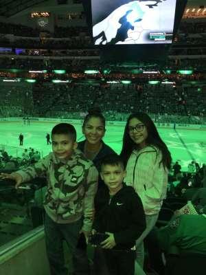 Margarita attended Dallas Stars vs. Calgary Flames - NHL on Oct 10th 2019 via VetTix