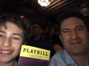 Bernard attended Anastasia - Hollywood Pantages Theatre on Oct 8th 2019 via VetTix