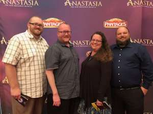 Andrew attended Anastasia - Hollywood Pantages Theatre on Oct 8th 2019 via VetTix