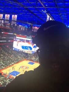 Stacy attended Detroit Pistons vs. Indiana Pacers - NBA on Oct 28th 2019 via VetTix