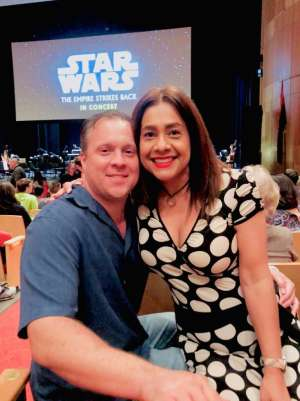 Jason attended Star Wars: The Empire Strikes Back in Concert - Sunday Matinee on Oct 13th 2019 via VetTix