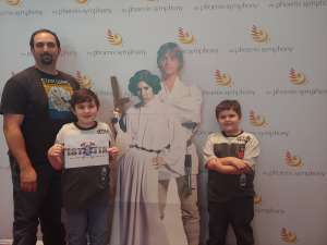 Alex attended Star Wars: The Empire Strikes Back in Concert - Sunday Matinee on Oct 13th 2019 via VetTix