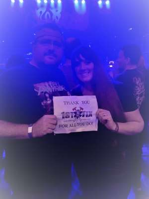 William attended Steel Panther - Heavy Metal Rules Tour on Oct 13th 2019 via VetTix