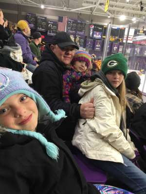 Colby attended Minnesota State University, Mankato Mavericks vs. Arizona State Sun Devils - NCAA Men's Hockey on Oct 12th 2019 via VetTix