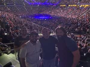 Josh attended UFC Fight Night - MMA on Oct 12th 2019 via VetTix