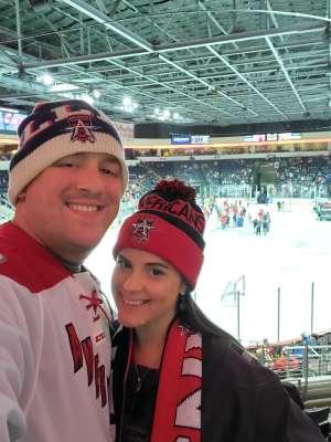 Nicolas attended Allen Americans vs. Rapid City Rush - ECHL on Oct 11th 2019 via VetTix