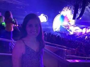 Yesenia attended J Balvin Arcoiris Tour on Oct 12th 2019 via VetTix