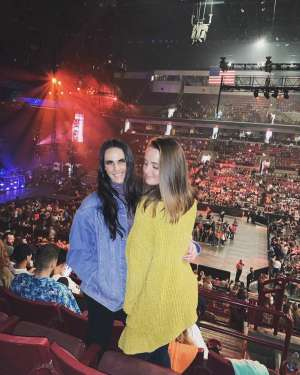 Matt attended The Chainsmokers with 5 Seconds of Summer and Lennon Stella on Oct 13th 2019 via VetTix