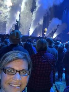 Byron attended Carrie Underwood: the Cry Pretty Tour 360 on Oct 16th 2019 via VetTix
