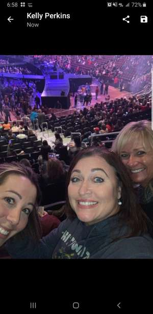 robert attended Carrie Underwood: the Cry Pretty Tour 360 on Oct 16th 2019 via VetTix
