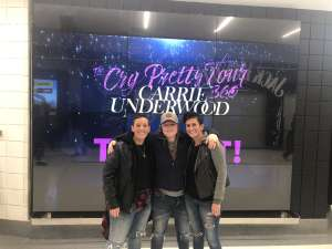 Heather attended Carrie Underwood: the Cry Pretty Tour 360 on Oct 16th 2019 via VetTix
