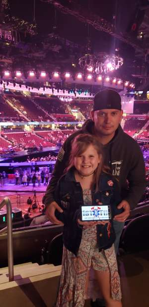 Bryan attended Carrie Underwood: the Cry Pretty Tour 360 on Oct 16th 2019 via VetTix