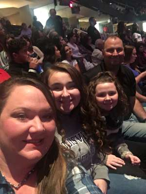 Bob attended Carrie Underwood: the Cry Pretty Tour 360 on Oct 16th 2019 via VetTix
