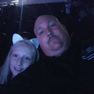 William attended Carrie Underwood: the Cry Pretty Tour 360 on Oct 16th 2019 via VetTix
