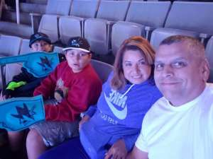 Andres attended San Jose Sharks vs. Carolina Hurricanes - NHL on Oct 16th 2019 via VetTix
