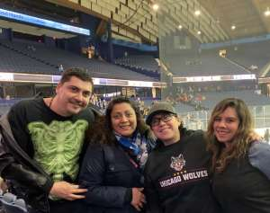 Gina attended Chicago Wolves vs. Tucson Roadrunners - AHL - Special Instructions * See Notes on Mar 5th 2020 via VetTix