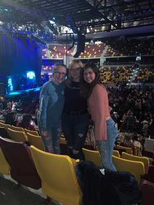 Jaime attended Chris Young: Raised on Country Tour on Oct 19th 2019 via VetTix