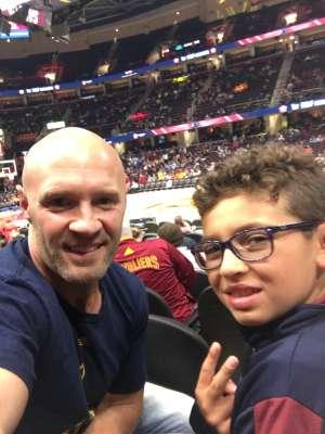joshua attended Cleveland Cavaliers vs. Boston Celtics - NBA on Oct 15th 2019 via VetTix