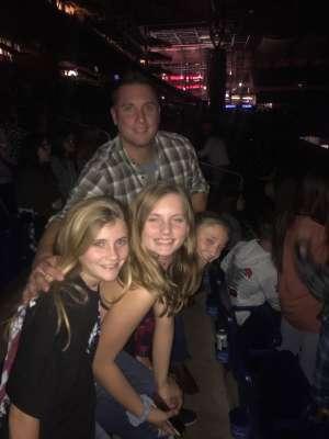 Bryan attended Luke Bryan: Sunset Repeat Tour 2019 on Oct 25th 2019 via VetTix