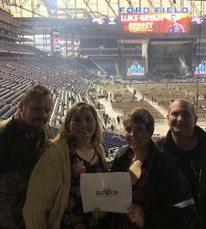 Jennifer attended Luke Bryan: Sunset Repeat Tour 2019 on Oct 25th 2019 via VetTix