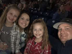 Mark, Sarah, Abbey and Aubrey attended Luke Bryan: Sunset Repeat Tour 2019 on Oct 25th 2019 via VetTix