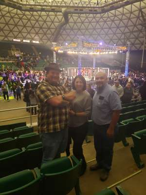 Dale attended Legacy Fighting Alliance 78 - Live Mixed Martial Arts - Tracking Attendance on Nov 15th 2019 via VetTix