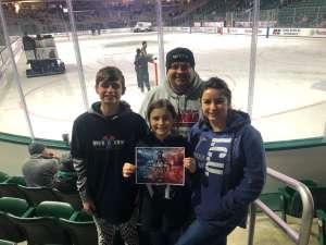 Ryan attended Michigan State University Spartans vs. University of Minnesota Golden Gophers - NCAA Men's Hockey on Jan 11th 2020 via VetTix