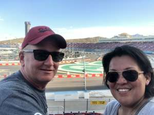 Paul attended Bluegreen Vacations 500 NASCAR Semi-final Race on Nov 10th 2019 via VetTix