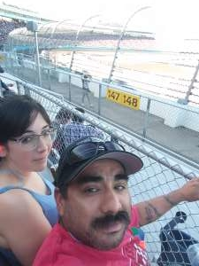 Rolando attended Bluegreen Vacations 500 NASCAR Semi-final Race on Nov 10th 2019 via VetTix