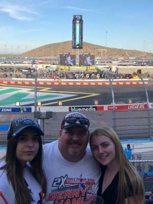 Joe attended Bluegreen Vacations 500 NASCAR Semi-final Race on Nov 10th 2019 via VetTix