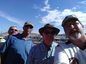 Howard attended Bluegreen Vacations 500 NASCAR Semi-final Race on Nov 10th 2019 via VetTix