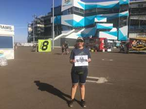 Joy attended Bluegreen Vacations 500 NASCAR Semi-final Race on Nov 10th 2019 via VetTix