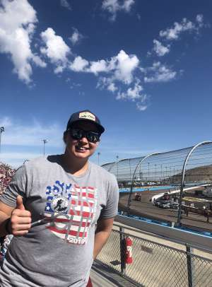 Brandi attended Bluegreen Vacations 500 NASCAR Semi-final Race on Nov 10th 2019 via VetTix