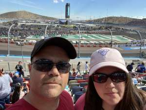 John attended Bluegreen Vacations 500 NASCAR Semi-final Race on Nov 10th 2019 via VetTix