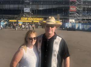 Andrew (Retired LEO) attended Bluegreen Vacations 500 NASCAR Semi-final Race on Nov 10th 2019 via VetTix