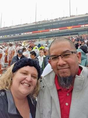 Hilario attended University of Texas Longhorns vs. Texas Tech Red Raiders - NCAA Football on Nov 29th 2019 via VetTix