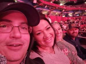 Seth attended Atlive With Keith Urban and Blake Shelton on Nov 15th 2019 via VetTix