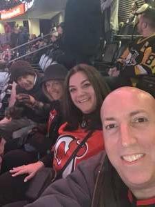 Eric M.  attended New Jersey Devils vs. Pittsburgh Penguins - NHL on Nov 15th 2019 via VetTix