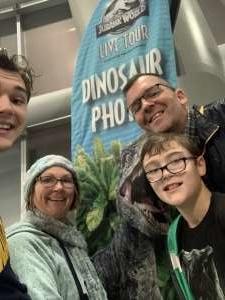 Andrew attended Jurassic World Live Tour at Sprint Center on Nov 29th 2019 via VetTix