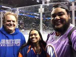 James attended New York Islanders vs. Pittsburgh Penguins - NHL on Nov 7th 2019 via VetTix