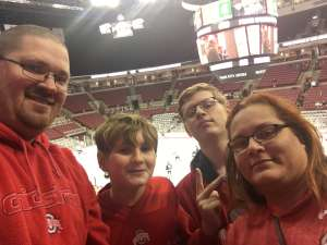 Aric attended Ohio State Buckeyes vs. Michigan State University - NCAA Hockey on Nov 30th 2019 via VetTix
