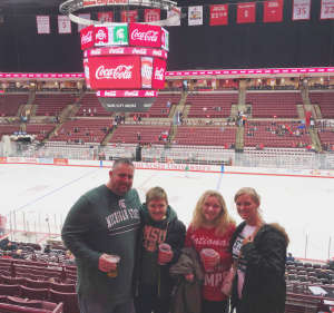 Joshua attended Ohio State Buckeyes vs. Michigan State University - NCAA Hockey on Dec 1st 2019 via VetTix
