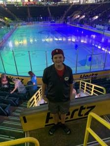 Chris attended Florida Everblades vs. Orlando Solar Bears - ECHL on Nov 8th 2019 via VetTix