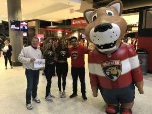 Randy attended Florida Panthers vs. Washington Capitals - NHL on Nov 7th 2019 via VetTix