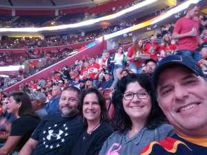 Craig attended Florida Panthers vs. Washington Capitals - NHL on Nov 7th 2019 via VetTix