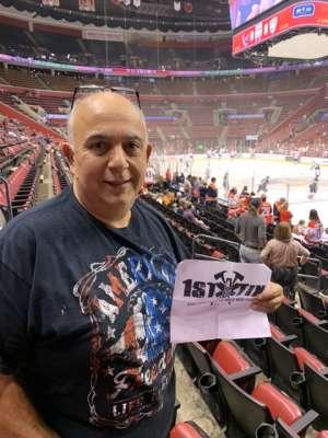Salvatore  attended Florida Panthers vs. Washington Capitals - NHL on Nov 7th 2019 via VetTix