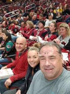 Timothy attended Arizona Coyotes vs. Columbus Blue Jackets - NHL on Nov 7th 2019 via VetTix